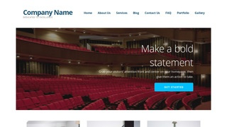 Ascension Orchestra and Symphony WordPress Theme