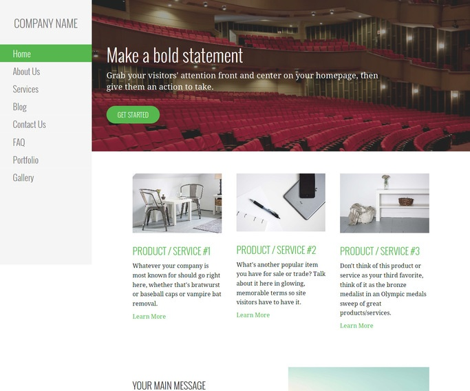 Escapade Orchestra and Symphony WordPress Theme