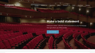 Lyrical Orchestra and Symphony WordPress Theme