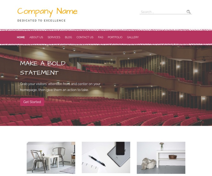 Scribbles Orchestra and Symphony WordPress Theme
