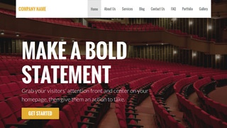 Stout Orchestra and Symphony WordPress Theme