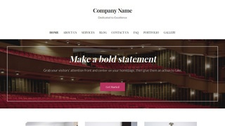 Uptown Style Orchestra and Symphony WordPress Theme