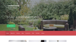 Activation Outdoor Furniture and Decor WordPress Theme