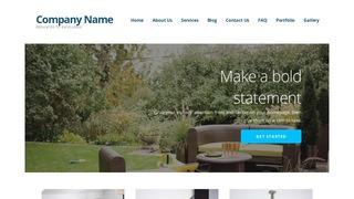 Ascension Outdoor Furniture and Decor WordPress Theme