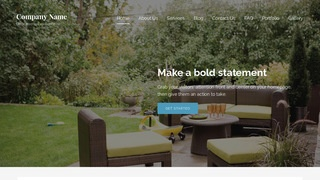 Lyrical Outdoor Furniture and Decor WordPress Theme