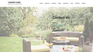 Mins Outdoor Furniture and Decor WordPress Theme