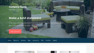 Primer Outdoor Furniture and Decor WordPress Theme