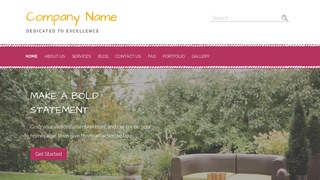 Scribbles Outdoor Furniture and Decor WordPress Theme