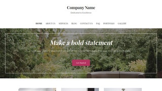 Uptown Style Outdoor Furniture and Decor WordPress Theme