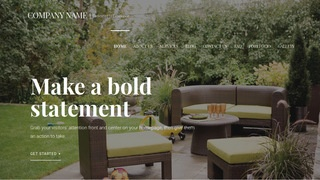 Velux Outdoor Furniture and Decor WordPress Theme