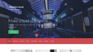 Activation Party Bus Rentals WordPress Theme