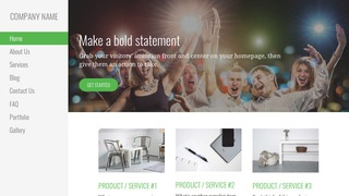 Escapade Party Equipment Rentals WordPress Theme