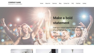 Mins Party Equipment Rentals WordPress Theme