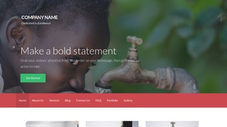 Activation Charity WordPress Theme