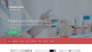 Activation Pharmaceutical Company WordPress Theme