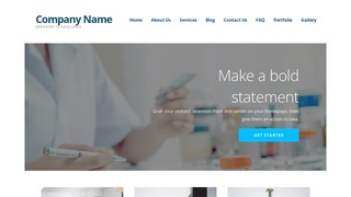 Ascension Pharmaceutical Company WordPress Theme