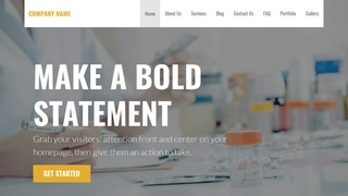 Stout Pharmaceutical Company WordPress Theme