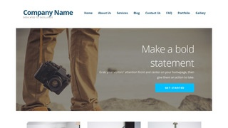 Ascension Photography WordPress Theme