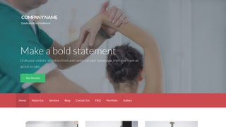 Activation Physical Therapy WordPress Theme