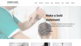 Mins Physical Therapy WordPress Theme