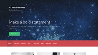 Activation Planetarium WordPress Theme