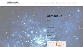 Mins Planetarium WordPress Theme