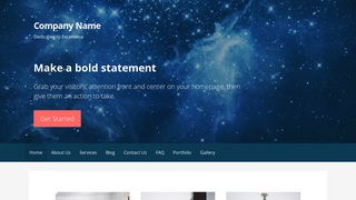Primer Planetarium WordPress Theme