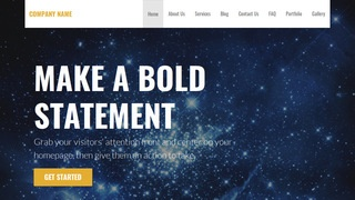 Stout Planetarium WordPress Theme