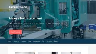 Primer Plastic Injection Molding WordPress Theme