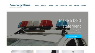 Ascension Police Academy WordPress Theme