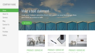 Escapade Portable Toilets WordPress Theme