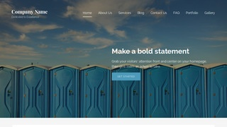 Lyrical Portable Toilets WordPress Theme