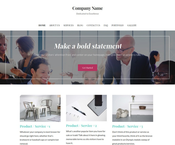 Uptown Style Power Plant Consultant WordPress Theme