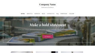 Uptown Style Print Shop WordPress Theme