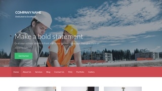 Activation Professional Engineer WordPress Theme