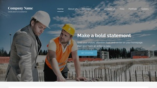 Lyrical Professional Engineer WordPress Theme