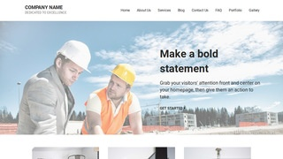 Mins Professional Engineer WordPress Theme