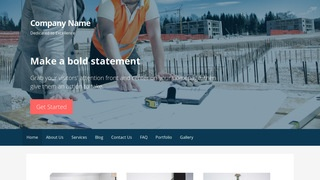 Primer Professional Engineer WordPress Theme