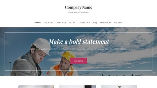 Uptown Style Professional Engineer WordPress Theme