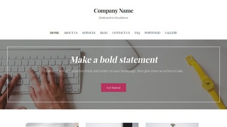 Uptown Style Proof Reading Service WordPress Theme