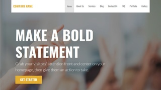 Stout Public University WordPress Theme