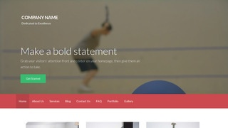Activation Racquetball WordPress Theme