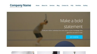 Ascension Racquetball WordPress Theme