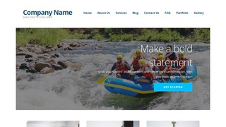 Ascension Rafting and Kayaking  WordPress Theme
