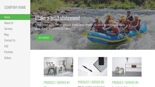 Escapade Rafting and Kayaking  WordPress Theme