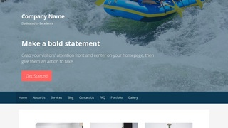 Primer Rafting and Kayaking  WordPress Theme