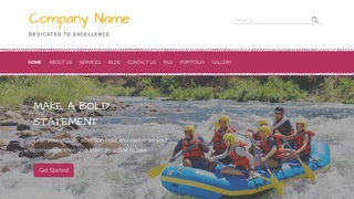 Scribbles Raft Trip Outfitter WordPress Theme