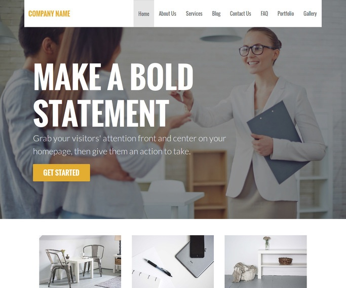 Stout Real Estate Agent WordPress Theme