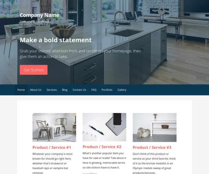 Primer Real Estate Developer WordPress Theme