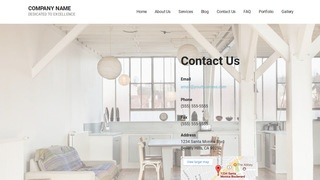 Mins Real Estate Services WordPress Theme